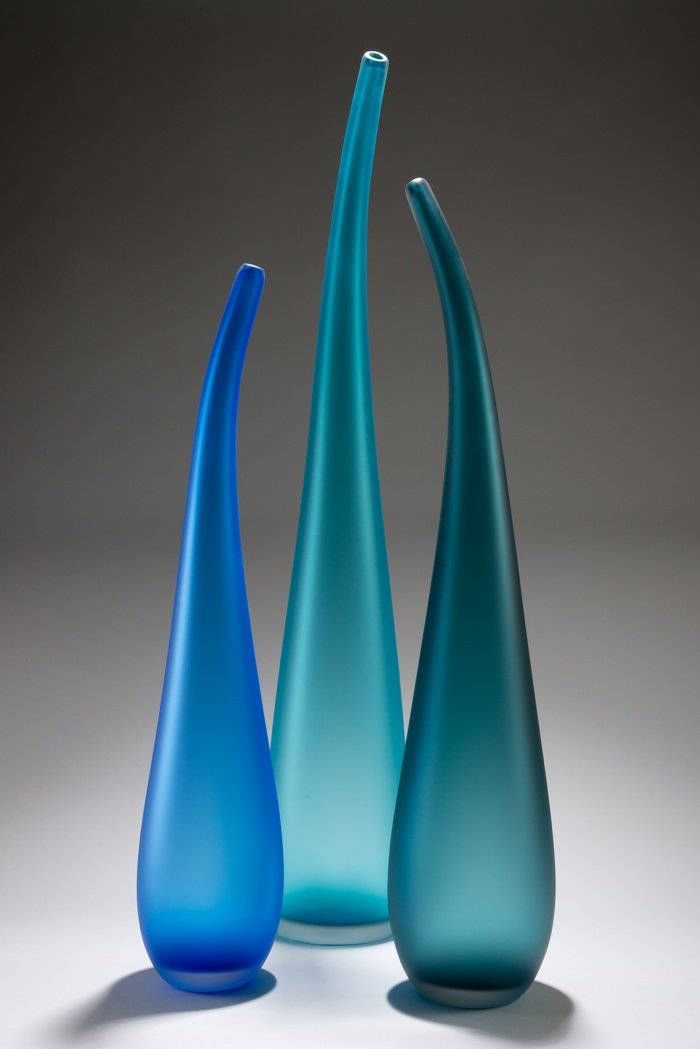 Residential Custom Glass Art by Christopher Jeffries - Time Together Series