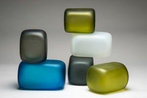 Glass Sculpture Contemporary Design