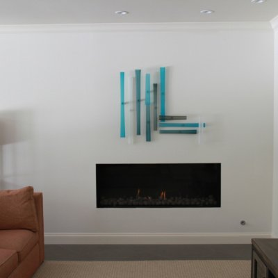 Contemporary Design Wall Installation