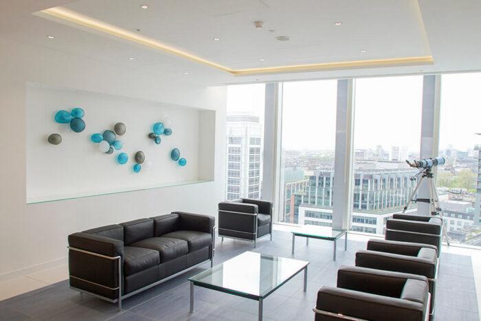 Contemporary Corporate Wall Installation Design